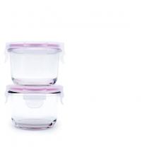 Glasslock Baby 160Ml 5 4Oz Round