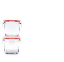 Glasslock Baby 120Ml 4Oz Square