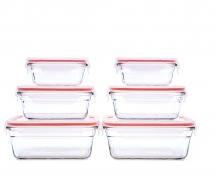 Glasslock Oven Safe 12Piece Set