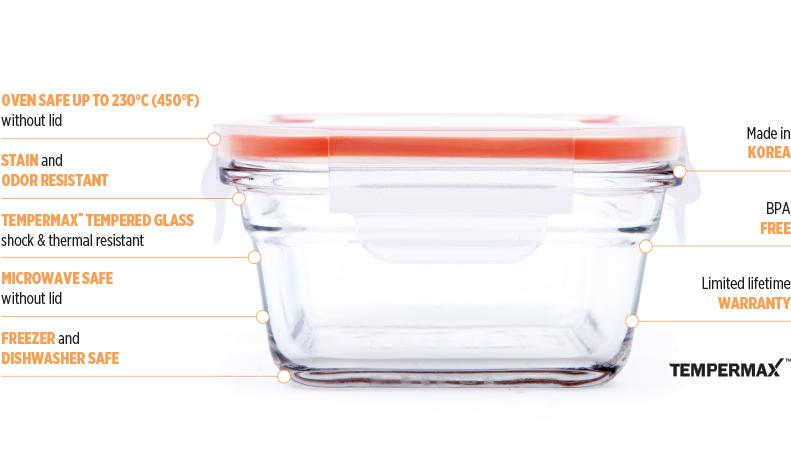 Glasslock Ovensafe Feature Desktop