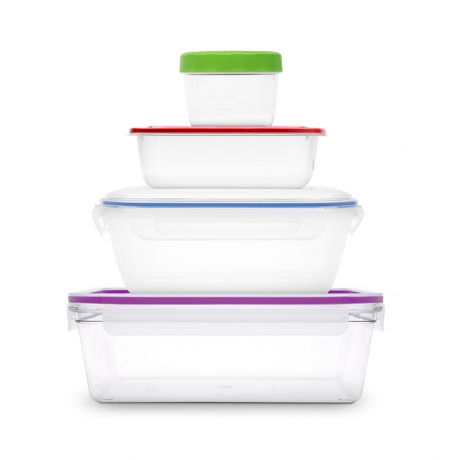 Accent Home food storage containers stacked